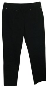 Ellen Tracy Straight Pants BLACK