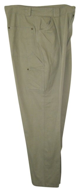 Preload https://item5.tradesy.com/images/st-john-tan-beige-slacks-wide-leg-by-bay-cotton-cargo-pants-size-16-xl-plus-0x-1637374-0-0.jpg?width=400&height=650