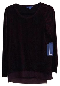 Simply Vera Vera Wang Top Purple, Black