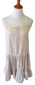 Urban Outfitters short dress Beige on Tradesy
