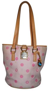 Dooney & Bourke Polka Dot Leather Shoulder Bag