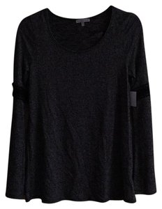 Charlotte Russe Top Gray, Black