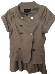 BCBGMAXAZRIA Military inspired short sleeve