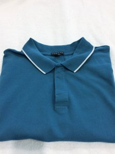 Theory Theory Teal Men's Polo