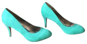 Madden Girl Seafoam Green Suede Pumps