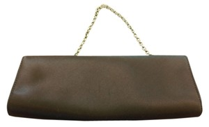 Ann Taylor Chocolate Brown Clutch