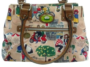 Lily Bloom Coach Purse Satchel in Multi