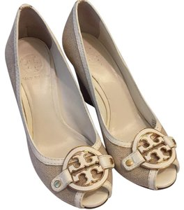 Tory Burch Beige Wedges