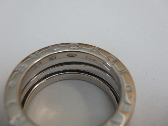 BVLGARI B-ZERO Ring S size 18K White Gold EU 50 with Box