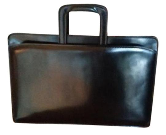 Other Briefcase Leather Retractable Handle Vintage Laptop Bag