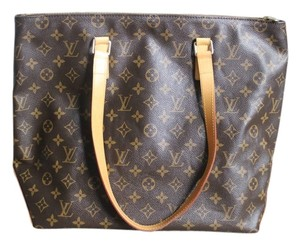 Louis Vuitton Lv Monogram Neverfull Tote in Brown