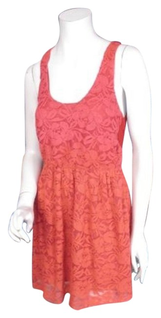 Preload https://img-static.tradesy.com/item/16376794/pins-and-needles-urban-outfitters-orange-red-ombre-lace-natural-wonders-dress-0-1-650-650.jpg