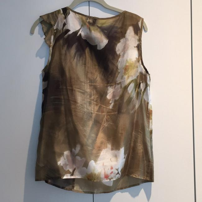 United Colors of Benetton Top Olive, blush, cream