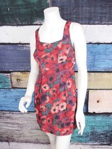 Kimchi Blue short dress Red, Purple Urban Outfitters on Tradesy