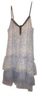 Band of Gypsies short dress Blue and White on Tradesy
