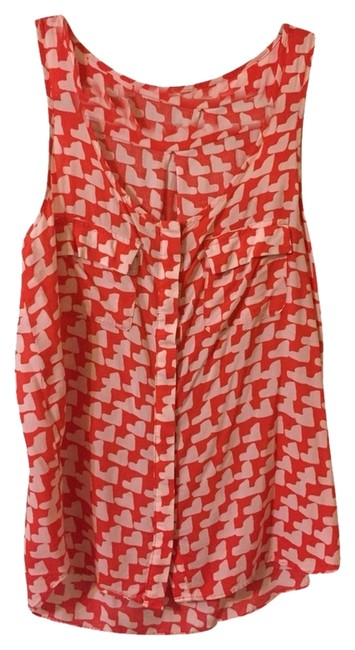 Preload https://item1.tradesy.com/images/gap-red-and-white-blouse-size-2-xs-1637705-0-0.jpg?width=400&height=650