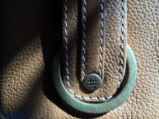 Cole Haan Leather Zip Detail Shoulder Bag