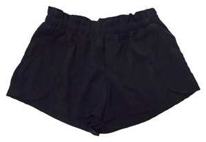 Other Paperbagwaist Sexy Mini/Short Shorts Black