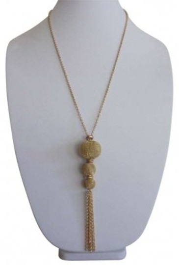 Preload https://item5.tradesy.com/images/gold-1960s-plated-tassel-necklace-163774-0-0.jpg?width=440&height=440