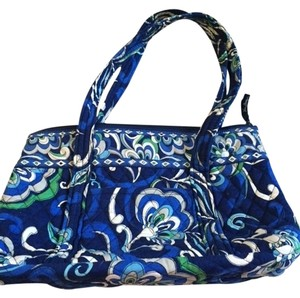 Vera Bradley Tote in Blue/Green/White