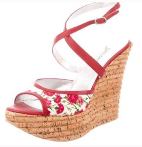 Dolce&Gabbana Red white Sandals