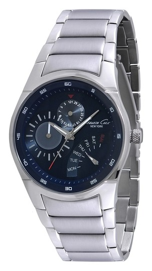 Kenneth Cole Kenneth Cole Male Dress Watch KC9220 Blue Multifunction