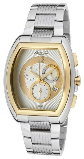 Kenneth Cole Kenneth Cole Male Dress Watch KC9165 Silver Chronograph