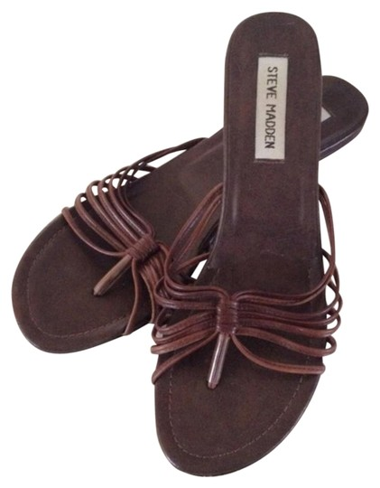 Preload https://img-static.tradesy.com/item/16378405/steve-madden-brown-strappy-leather-sandals-size-us-75-regular-m-b-0-1-540-540.jpg