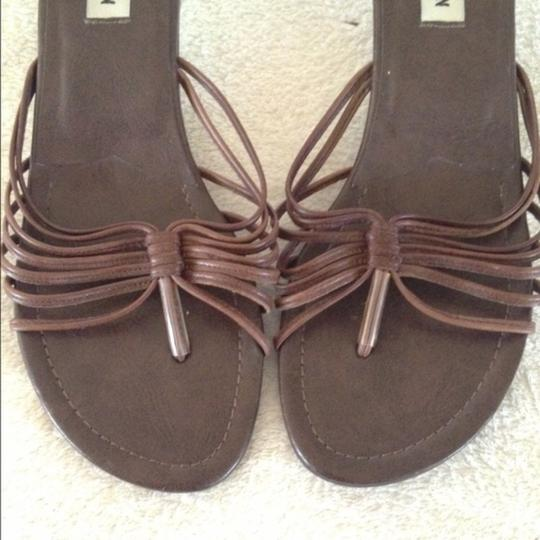 Steve Madden Strappy Leather Boho Summer Designer Brown Sandals
