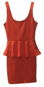Ambiance Apparel short dress Coral on Tradesy