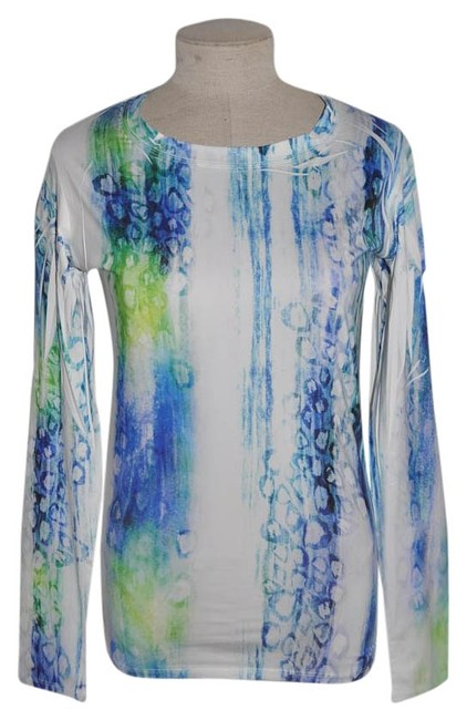Item - Print Yoga Activewear Top Size 8 (M, 29, 30)
