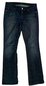 7 For All Mankind P1314 Boot Cut Jeans-Medium Wash