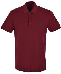 Gucci Polo Men's Polo Men's Polo Polo T Shirt Burgundy