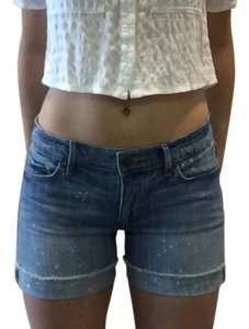 Ann Taylor LOFT Stretchy Cuffed Shorts Denim