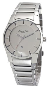 Kenneth Cole Kenneth Cole Male Dress Watch KC3891 Silver Analog