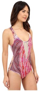 SAHA SAHA Gaia Mesh Cut One Piece Swimsuit Size Medium M