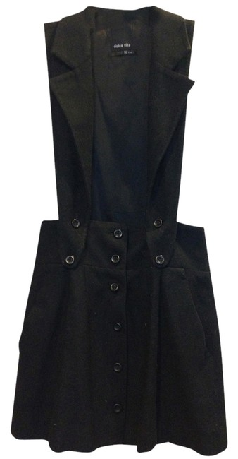 Preload https://item4.tradesy.com/images/dolce-vita-black-two-piece-collared-skirt-above-knee-workoffice-dress-size-2-xs-1638048-0-0.jpg?width=400&height=650