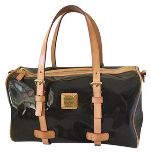 Dooney & Bourke Leather Shoulder Satchel in Black