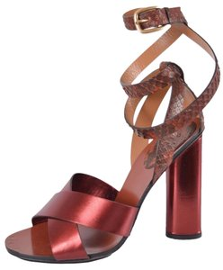 Gucci Strappy Strappy Red Sandals