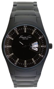 Kenneth Cole Kenneth Cole Male Dress Watch KC9290 Black Analog