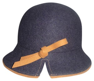 Helen Welsh Helen Welsh MADE IN ITALY Bow Detail Wool Cloche