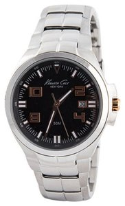 Kenneth Cole Kenneth Cole Male Dress Watch KC9146 Silver Analog