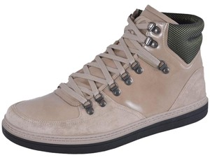 Gucci Men's Sneakers Taupe and Green Athletic