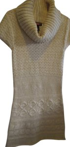 Macy's-SAY WHAT? short dress Butter Cream Macys Sweater on Tradesy