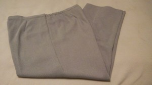 Alfred Dunner Trouser Pants Silver Gray