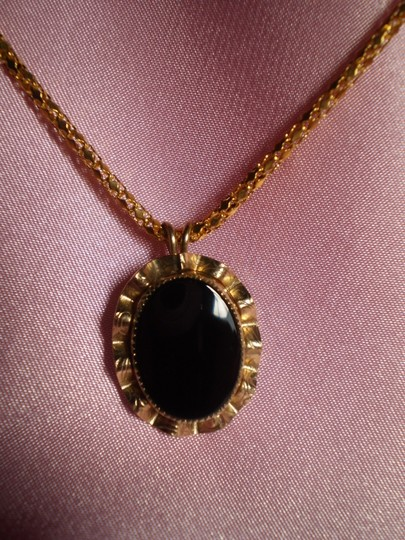 Other Gold & Black Necklace