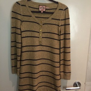 Juicy Couture short dress Tan and brown on Tradesy