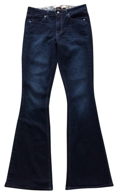 Item - Dark High Rise Bell Canyon Flare Leg Jeans Size 28 (4, S)