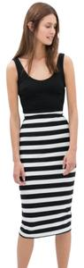 Zara Striped Bodycon Dress