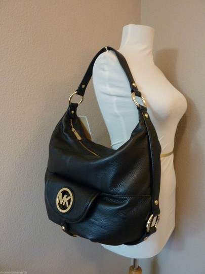Michael Kors Wallet Leather Hobo Bag